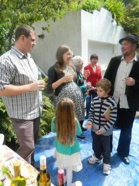 Luke, Julia and Christof