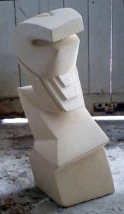 Zigzag Man|Oamaru Stone|Sold