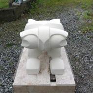 Drock,2016 Oamaru stone 300Hx450Lx300Dmm SOLD